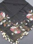 画像7: キュタフヤ・タウシャンル|アンティークイーネオヤスカーフ|シルク糸|水仙