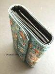 画像7: トルコ絨毯柄|三つ折り財布・ブルー系