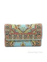 トルコ絨毯柄|三つ折り財布
