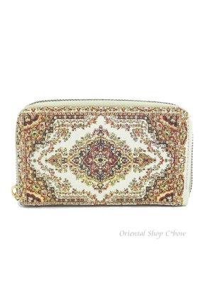 画像1: トルコ絨毯柄|カード・小銭入れ|G