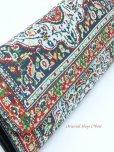 画像4: トルコ絨毯柄|三つ折り 長財布|レッド系・5