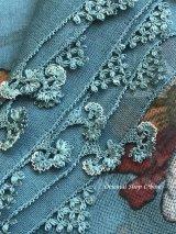 東アナトリア・エラズー|アンティークオヤスカーフ|シルク糸イーネオヤ|お花のオヤ