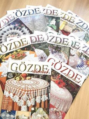 画像1: GOZDE DANTEL GOZDE ELSANATLARI  モリモリ15冊セット