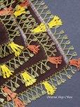 画像9: バルッケシル:大判トゥーオヤスカーフ ダークブラウン 素晴らしいチューリップ