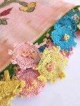 画像7: ベルガマ・コザック地区|木版アンティークオヤスカーフ|シルク糸イーネオヤ|コロナ太陽モチーフ