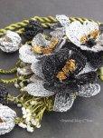 画像11: 立体トゥーオヤ|ブローチ&ネックレス・ブラック・グレー系