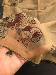 画像5: ブルサ|木版アンティークオヤスカーフ・シルク糸イーネオヤ・細かい|BR12
