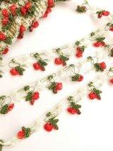 ヴィンテージオヤブレード|グラデーション糸|トマト