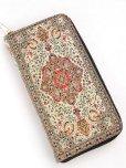 画像3: トルコ絨毯柄|ファスナー長財布