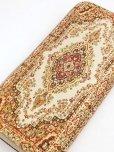 画像2: トルコ絨毯柄|ファスナー長財布|ゴールドレッド系