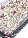 画像5: トルコ絨毯柄|ファスナー長財布|カーネーション