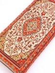 画像2: トルコ絨毯柄|ファスナー長財布|レッド系
