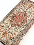 画像1: トルコ絨毯柄|ファスナー長財布 (1)