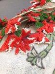 画像2: ブルサ|木版アンティークオヤスカーフ・シルク糸イーネオヤ|アッシュグレー