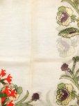 画像7: ブルサ|木版アンティークオヤスカーフ・シルク糸イーネオヤ|アッシュグレー