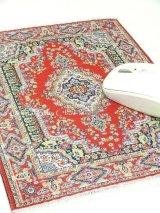 トルコ絨毯柄|デスク周りを個性的に|マウスパット|C