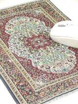 トルコ絨毯柄|デスク周りを個性的に|マウスパット|F