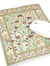 トルコ絨毯柄|デスク周りを個性的に|マウスパット|A