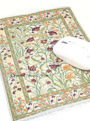 画像1: トルコ絨毯柄|デスク周りを個性的に|マウスパット|A