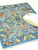 トルコ絨毯柄|デスク周りを個性的に|マウスパット|B