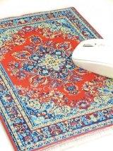 トルコ絨毯柄|デスク周りを個性的に|マウスパット|E