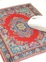 トルコ絨毯柄|デスク周りを個性的に|マウスパット|D