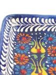 画像4: 特価・キュタフヤ*陶器 長方形小皿 ブルー