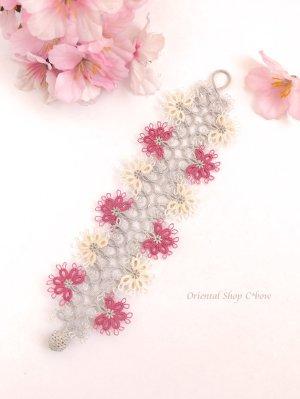 画像2: スペシャル☆メキッキオヤブレスレット|お花