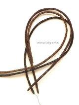 シルクイーネオヤ:ネックレス紐|ブラック・ブラウン・ココア