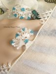 画像2: 東アナトリア・エラズー|アンティークオヤスカーフ|シルク糸イーネオヤ|花