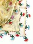 画像5: ブルサ:カラジャベイ|キャートヤズマ|木版アンティークオヤスカーフ|シルクイーネオヤ:チューリップ