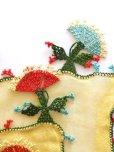 画像8: ブルサ:カラジャベイ|キャートヤズマ|木版アンティークオヤスカーフ|シルクイーネオヤ:チューリップ