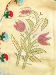 画像7: ブルサ:カラジャベイ|キャートヤズマ|木版アンティークオヤスカーフ|シルクイーネオヤ:チューリップ