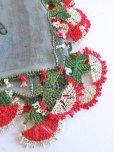 画像8: ブルサ:カラジャベイ|木版アンティークオヤスカーフ|シルクイーネオヤ:ライトサックスブルー