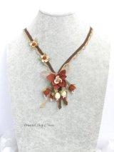 シルクイーネオヤ:ネックレス|花束|ココア