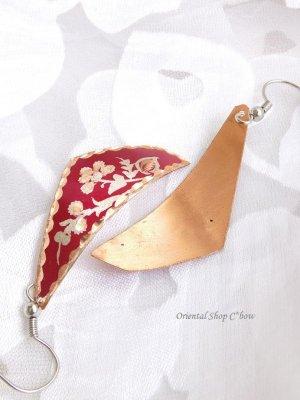 画像3: エスニックデザイン★トルコ製 銅のピアス