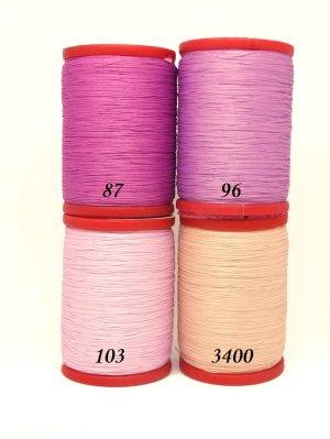 画像2: 新色★MUZ撚り済み:OYALI人工シルク糸|4本撚り糸|3400