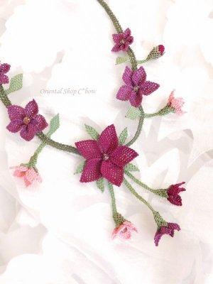 画像5: シルクイーネオヤネックレス|道ばたのお花
