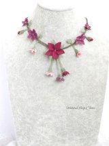 シルクイーネオヤネックレス|道ばたのお花