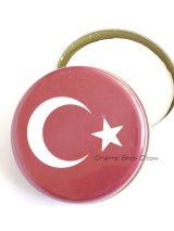 トルコ製:オリーブ石鹸★可愛いオリエンタル缶入り