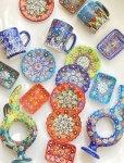 画像8: マグカップ|キュタフヤ*陶器|カラフル|ブルー系
