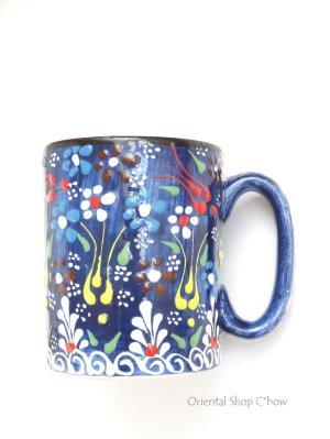 画像1: マグカップ|キュタフヤ*陶器|カラフル|ブルー系